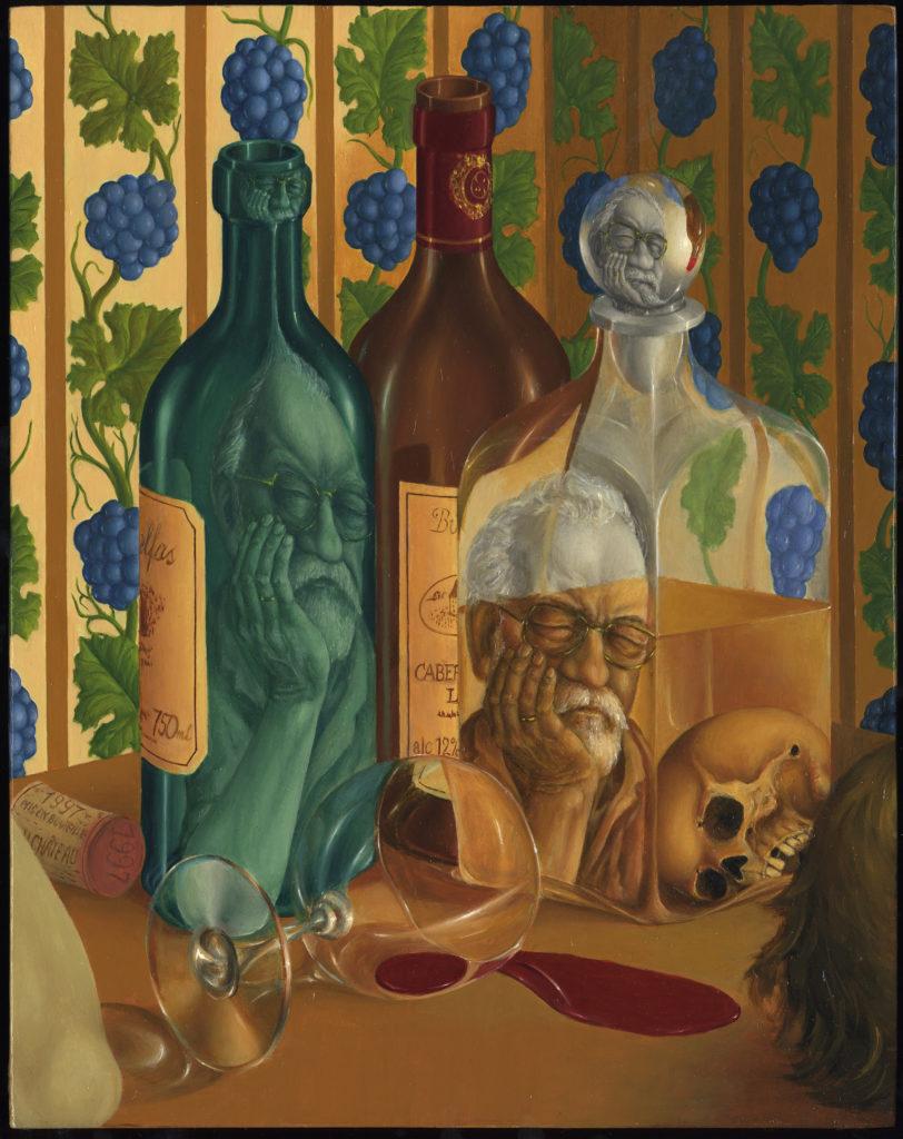"""In vino veritas"" 34x27 cm"