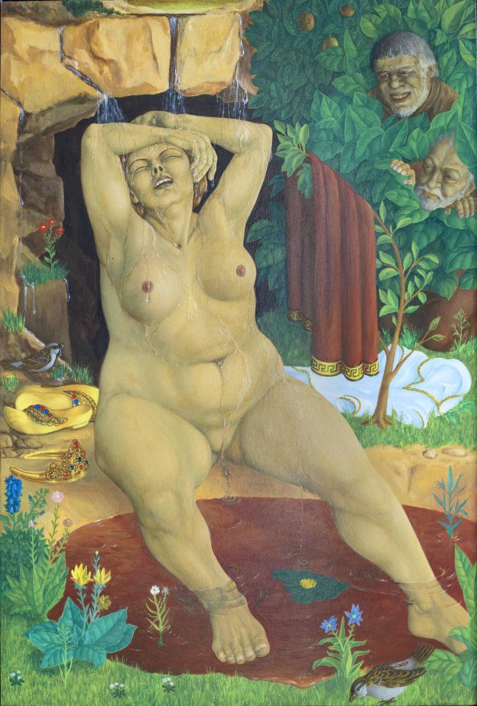 """""""Suzanna i badet"""" 52,5x35 cm"""